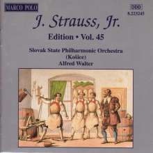 Johann Strauss II (1825-1899): Johann Strauss Edition Vol.45, CD