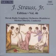 Johann Strauss II (1825-1899): Johann Strauss Edition Vol.46, CD