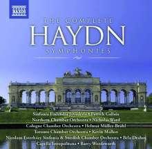 Joseph Haydn (1732-1809): Symphonien Nr.1-104, 34 CDs