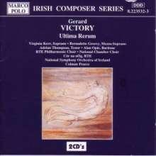 Gerard Victory (geb. 1921): Ultima Rerum (Oratorium), 2 CDs