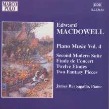 Edward MacDowell (1861-1908): Klavierwerke Vol.4, CD