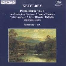 Albert Ketelbey (1875-1959): Klavierwerke Vol.1, CD