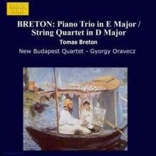 Tomas Breton (1850-1923): Streichquartett in D, CD