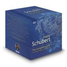 Franz Schubert (1797-1828): Sämtliche Lieder (Deutsche Schubert-Lied-Edition/Naxos), 38 CDs