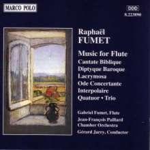 Raphael Fumet (1898-1979): Ode Concertante f.Flöte & Streicher, CD
