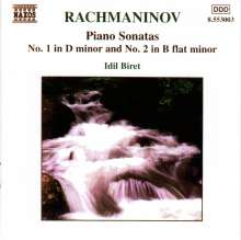Sergej Rachmaninoff (1873-1943): Klaviersonaten Nr.1 & 2, CD