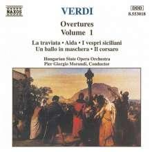 Giuseppe Verdi (1813-1901): Ouvertüren Vol.1, CD