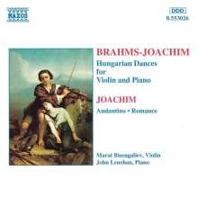 Joseph Joachim (1831-1907): Werke f.Violine & Klavier, CD