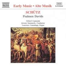 Heinrich Schütz (1585-1672): Psalmen Davids SWV 24,28,39,35,37,39, CD