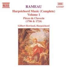 Jean Philippe Rameau (1683-1764): Cembalowerke Vol.1, CD