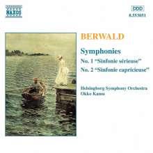 Franz Berwald (1796-1868): Symphonien Vol.1, CD