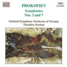 Serge Prokofieff (1891-1953): Symphonien Nr.3 & 7, CD