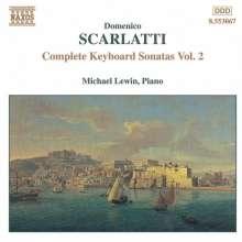 Domenico Scarlatti (1685-1757): Klaviersonaten Vol.2, CD