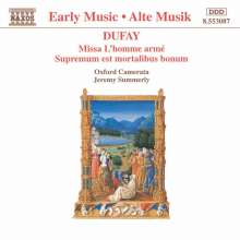 """Guillaume Dufay (1400-1474): Missa """"L'homme arme"""", CD"""