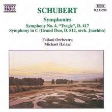 Franz Schubert (1797-1828): Symphonie Nr.4, CD