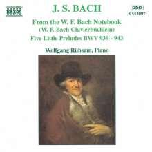 Johann Sebastian Bach (1685-1750): Präl.BWV 847-851,853-857,924-930,939-943, CD