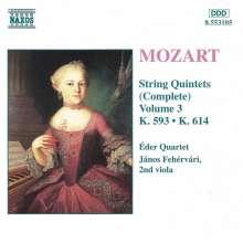 Wolfgang Amadeus Mozart (1756-1791): Streichquintette Nr.5 & 6, CD