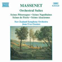 Jules Massenet (1842-1912): Suiten Nr.4-7, CD