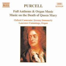 Henry Purcell (1659-1695): Funeral Music for Queen Mary, CD