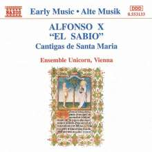 Alfonso el Sabio (1223-1284): Cantigas de Santa Maria, CD