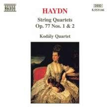 Joseph Haydn (1732-1809): Streichquartette Nr.81 & 82 (op.77 Nr.1&2), CD