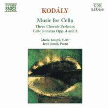 Zoltan Kodaly (1882-1967): Sonate f.Cello & Klavier op.4, CD