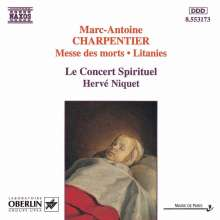 Marc-Antoine Charpentier (1643-1704): Messe des morts, CD