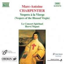 Marc-Antoine Charpentier (1634-1704): Vespres a la Vierge, CD