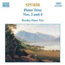 Louis Spohr (1784-1859): Klaviertrios Nr.2 & 4, CD