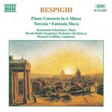 Ottorino Respighi (1879-1936): Klavierkonzert a-moll, CD