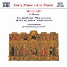 Thomas Weelkes (1575-1623): 17 Anthems, CD