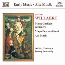 Adrian Willaert (1490-1562): Missa Christus resurgens, CD