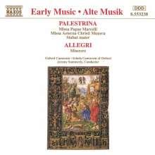 Giovanni Perluigi da Palestrina (1525-1594): Missa Aeterna Christi Munera, CD