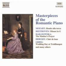 Masterpieces of the Romantic Piano, CD