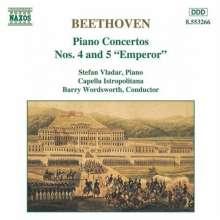 Ludwig van Beethoven (1770-1827): Klavierkonzerte Nr.4 & 5, CD