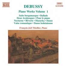 Claude Debussy (1862-1918): Klavierwerke Vol.1, CD