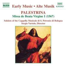 """Giovanni Perluigi da Palestrina (1525-1594): Missa """"Beata Vergine"""", CD"""