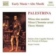 """Giovanni Pierluigi da Palestrina (1525-1594): Missa """"L'Homme Arme"""", CD"""