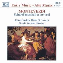 Claudio Monteverdi (1567-1643): Madrigali, CD