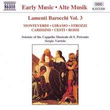 Lamenti Barocchi Vol.3, CD