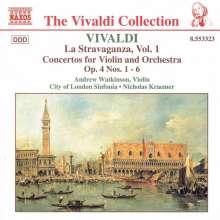 """Antonio Vivaldi (1678-1741): Concerti op.4 Nr.1-6 """"La Stravaganza"""", CD"""