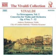 """Antonio Vivaldi (1678-1741): Concerti op.4 Nr.7-12 """"La Stravaganza"""", CD"""