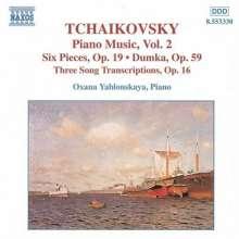Peter Iljitsch Tschaikowsky (1840-1893): Klavierwerke Vol.2, CD