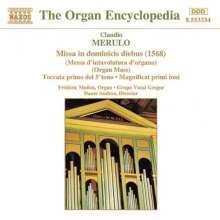 Claudio Merulo (1533-1604): Missa in Dominicis Diebus, CD