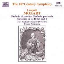 Leopold Mozart (1719-1787): Sinfonia da Caccia f.4 Hörner & Streicher, CD
