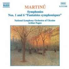 Bohuslav Martinu (1890-1959): Symphonien Nr.1 & 6, CD