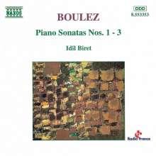 Pierre Boulez (1925-2016): Klaviersonaten Nr.1-3, CD