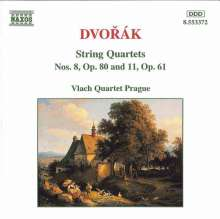 Antonin Dvorak (1841-1904): Streichquartette Vol.2, CD