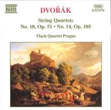 Antonin Dvorak (1841-1904): Streichquartette Vol.4, CD