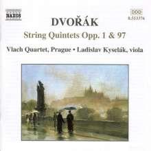 Antonin Dvorak (1841-1904): Streichquintette opp.1 & 97, CD